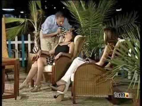 """Intervención en el programa """"Refréscate"""" de Televisión Murciana en donde Eugenio realiza una regresión"""